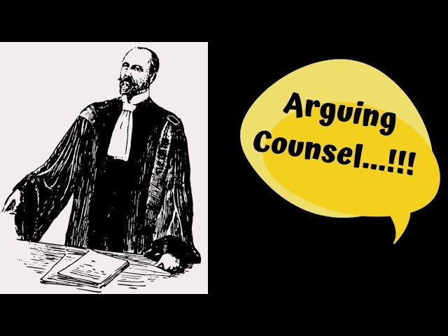 How to assist an Arguing Counsel...??