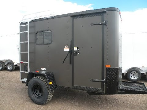 Off Road Off The Grid Converted Cargo Trailer Youtube