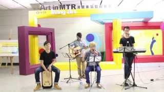 movin' cover Bruno Mars - Just The Way You Are @ 香港站Living art (2013年7月19日)