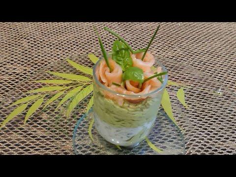 recette-verrine-avocat-saumon-fumé-et-petit-suisses,-facile-et-rapide.-un-régale-❤️-❤️