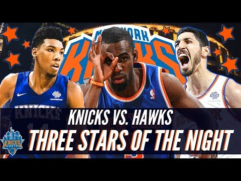 Knicks 126 vs. Hawks 107| Three Stars Of The Night| Who's Your Picks?!| KnicksFanTV