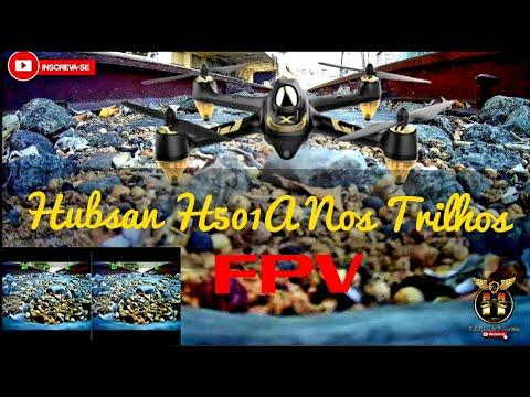 Фото FPV Com Hubsan H501A X4 Air Pro | Na FCA Estação Ferroviária | Campos-Rj | FPV#2