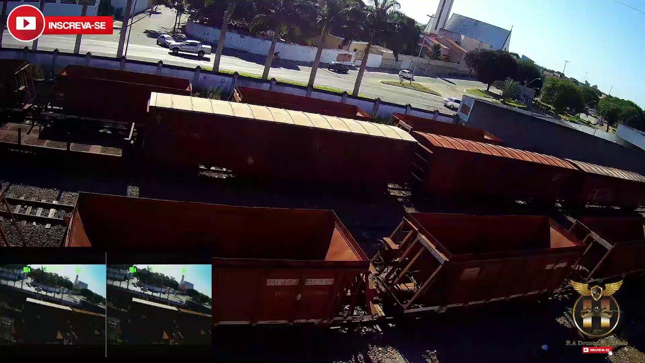 FPV Com Hubsan H501A X4 Air Pro | Na FCA Estação Ferroviária | Campos-Rj | FPV#2 фото