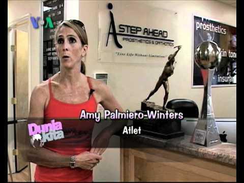 Amy Palmiero-Winters: Atlet Kelas Dunia Berkaki Satu - Dunia Kita Ep. Kisah Inspiratif 3 Feb 2011