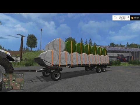 remorque plateau farming simulator 2017