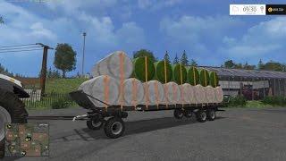 Farming simulator 15 | #20 Présentation des mods | Plateau automatique! | Fliegl DPW 180 automatic !