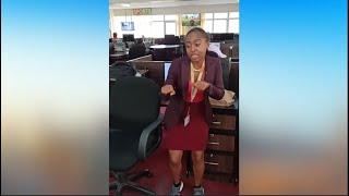 CITISEN TV NEWS ANCHOR MASHIRIMA KAPOMBE DANCING TO MEJA'S SONG SISKII - YOU'LL LOVE IT