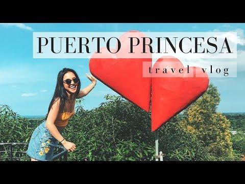 PUERTO PRINCESA CITY TRAVEL VLOG
