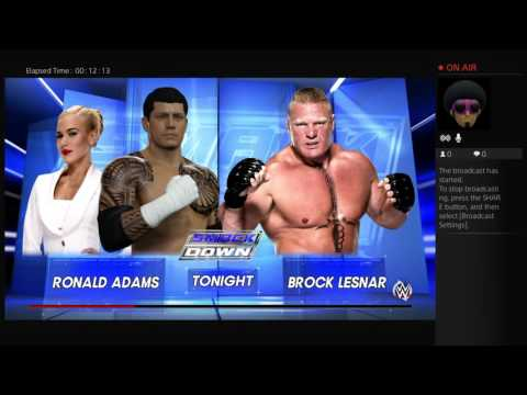 Ronald Adam WWE career