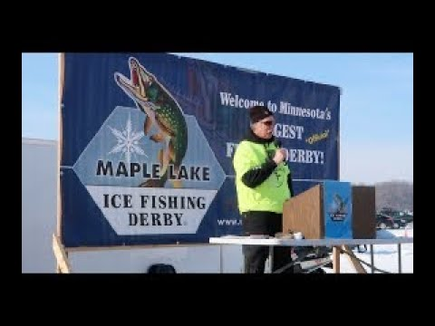 A Day At The 2019 Maple Lake Ice Fishing Derby
