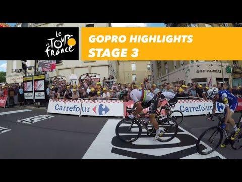 GoPro Highlights - Stage 3 - Tour de France 2017