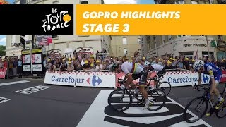 GoPro Highlights - Stage 3 - Tour de France 2017