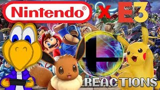 EVERYONE IS BACK! ll Koops Reacts to Nintendo at E3