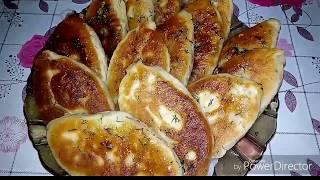 СУПЕР вкусные ПИРОЖКИ С ГОРОХОМ и чесночным соусом ( РЕКОМЕНДУЮ!!!)