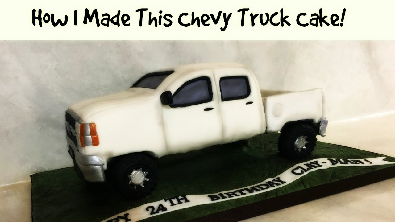 How To Make A Pick Up Truck Cake