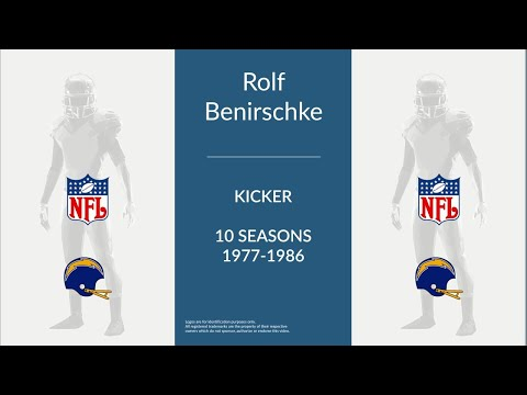 Rolf Benirschke: Football Kicker