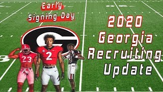 Major Burns Commits To Georgia | 2020 Georgia Recruiting Updates Before National Signing Day