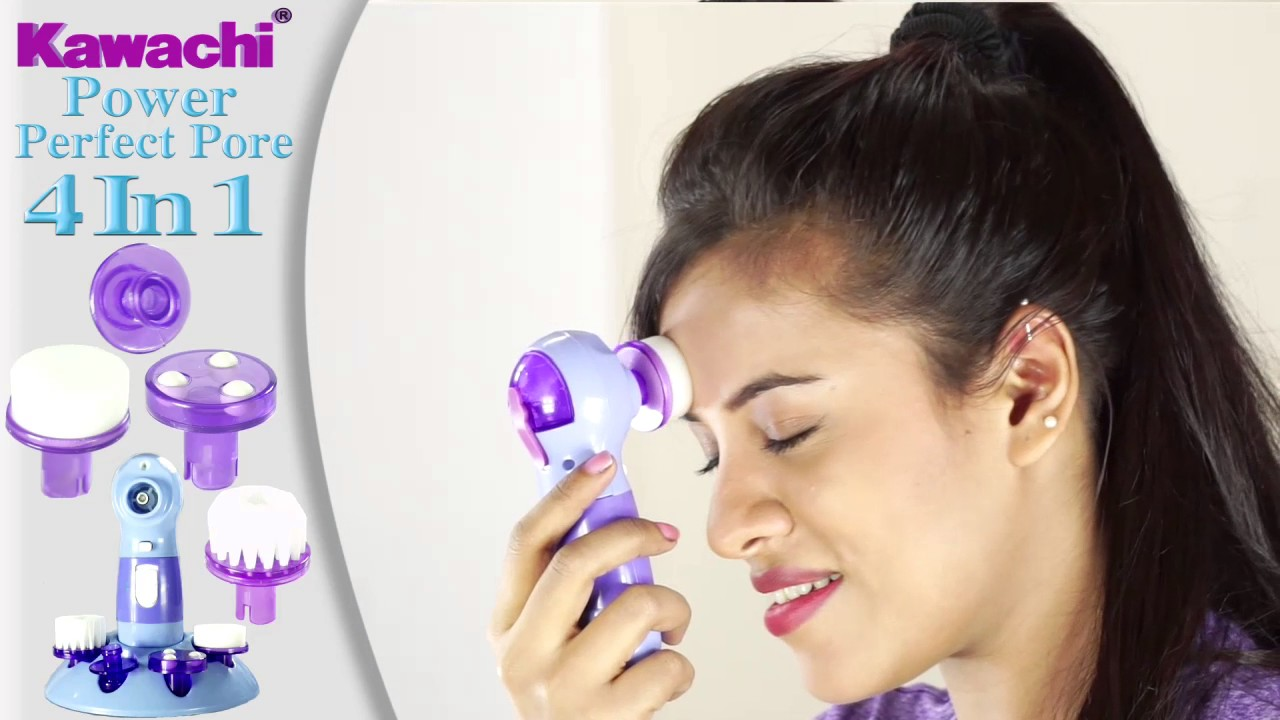 massager and facial Pore cleaner