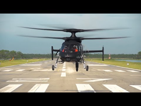 This Lockheed Martin​ prototype can fly twice as fast as a normal helicopter