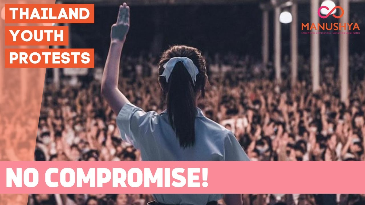 Thailand Protests: NO COMPROMISE! Free Youth Movement won't compromise on its 3 democracy demands