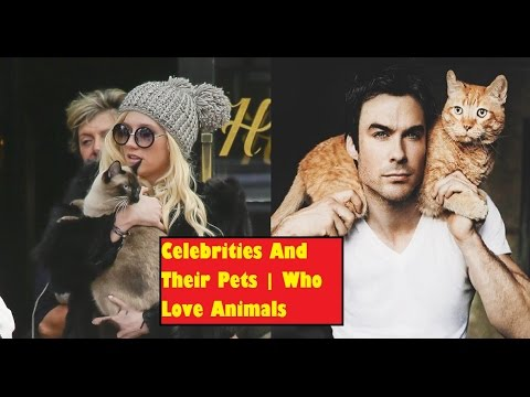 11 Celebrities who love Animals | Celebrities and their pets
