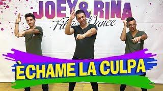 "Balli di Gruppo 2017 2018 "" ECHAME LA CULPA "" Choreography Joey&Rina || TUTORIAL ||"