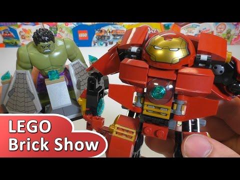 Халкбастер разгром, ЛЕГО Супергерои 76031 (LEGO Marvel Super Heroes)