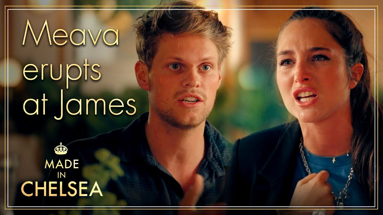Maeva ERUPTS at James | Made in Chelsea