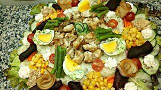 سلطة جد شهية و رائعة بمكونات بسيطة و سريعة