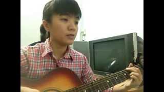 Ly - Guitar cover - Khánh Vy