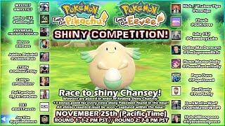 LIVE! SHINY CHANSEY COMPETITION: POKÉMON LET'S GO PIKACHU!