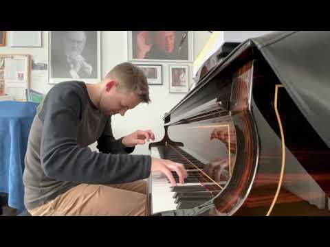 Friedrich Cerha: Schlaflied. Pawel Markowicz, Klavier