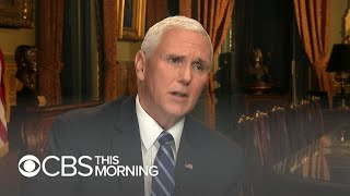 "Pence says Trump will detail ""crisis"" at southern border in prime-time address"