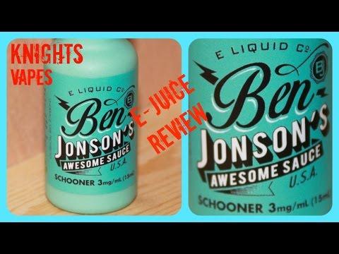 Ben Jonsons E-juice Review