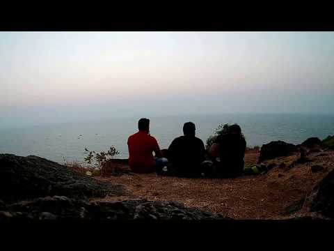 Goa bike Tour... (Panjim, St Xavier francis church,Beachs,Chopra fort-Dil chahta hai spot)