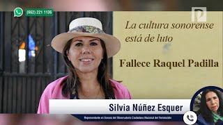 Con Feminicidio De Raquel Padilla Suman 98 Asesinatos De Mujeres En Sonora En 2019: Silvia Núñez