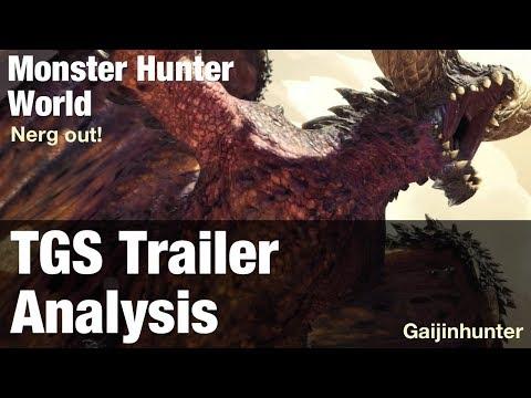 Monster Hunter World: TGS Trailer Analysis