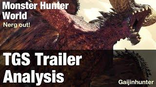 Monster Hunter World: TGS Trailer Analysis thumbnail