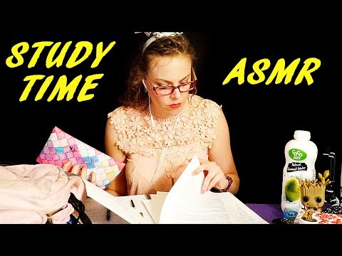 No Talking ASMR Study Partner – Sounds For Study Roleplay