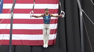 Akash Modi - Still Rings - 2019 U.S. Gymnastics Championships - Senior Men Day 2