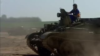 Michael drives a tank - Michael Palin