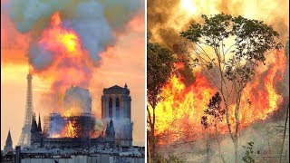 Video The Notre Dame Fire Was Reported In Minutes The Amazon Rainforest Has Been On Fire For 3 Weeks download MP3, 3GP, MP4, WEBM, AVI, FLV Agustus 2019