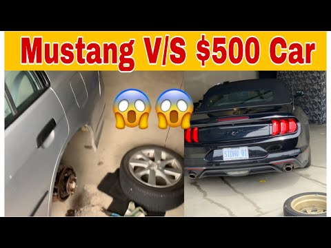 Mustang V/S $500 Car In Canada | International Students First Car In Canada | Ford Mustang