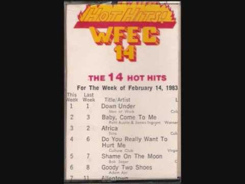 Hot Hits!  WFEC 1410 Harrisburg, PA - 14 February 1983