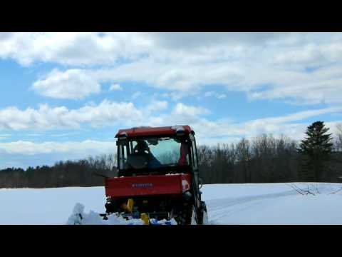 Grooming Cross Country Ski Trails
