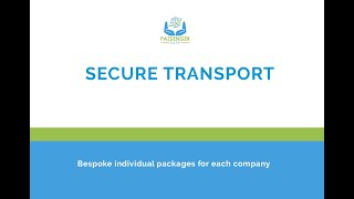 Managing people safely when in transit