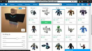 I make a new ROBLOX account and make my avatar