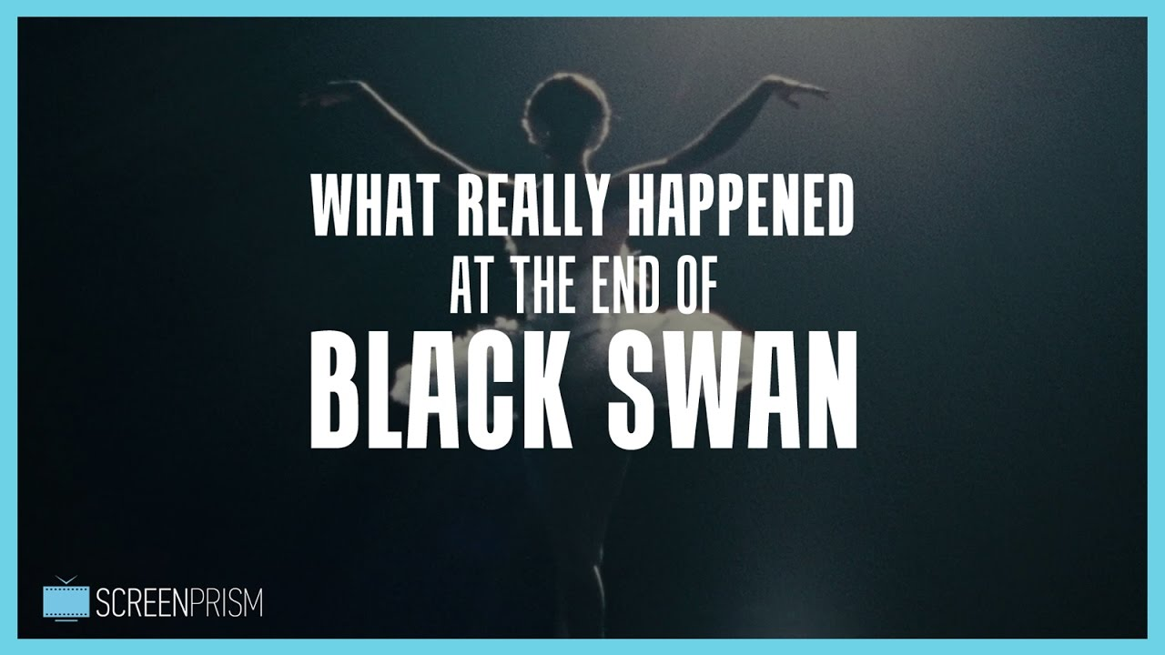 What Really Hened At The End Of Black Swan