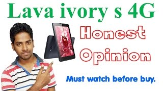 Lava ivory s 4g in hindi with our honest opinion in hindi