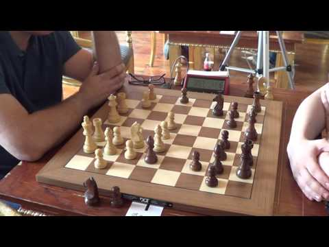 GM Giorgadze Giorgi - GM Vladimir Fedoseev, Gruenfeld defence, rapid chess, PART I